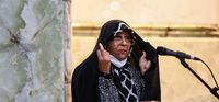 اشکهای همسر و فرزندان آیت الله هاشمی +عکس