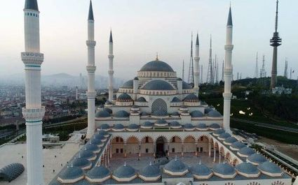 افتتاح بزرگترین مسجد ترکیه در استانبول