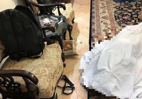 قتل زن جوان مقابل پسر ۱۲ساله
