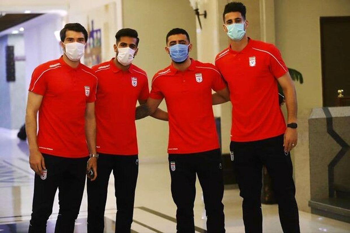 تست کرونای ملی پوشان برای بازی با هنگ کنگ