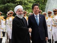 مراسم استقبال رسمی از نخست وزیر ژاپن در کاخ سعدآباد +فیلم