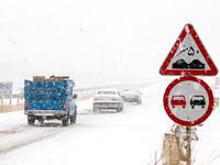 بارش برف، باران و مهگرفتگی در محورهای ۱۲استان کشور