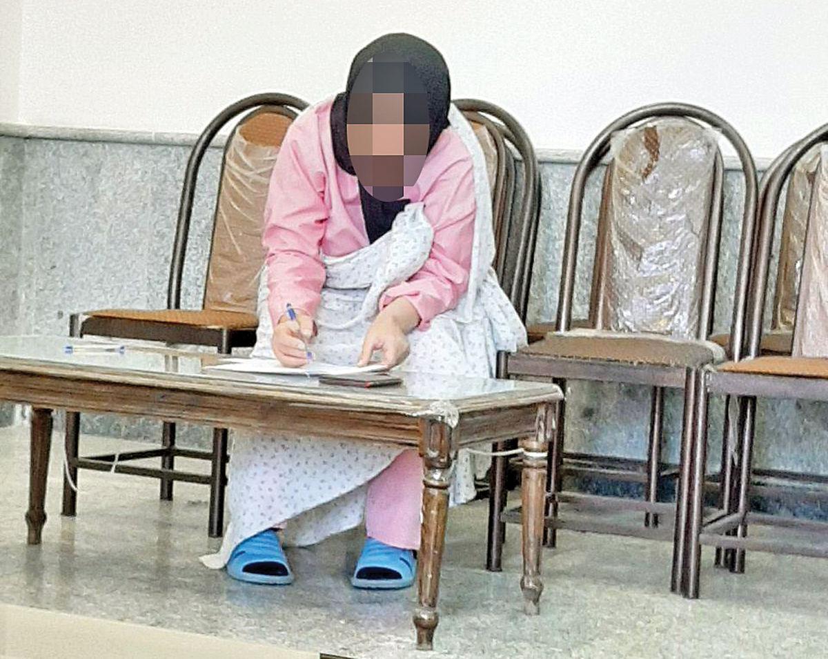 تلاش زن متهم به شوهرکشی برای نجات از قصاص