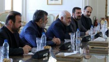 مدیر آژانس با ظریف دیدار کرد +عکس
