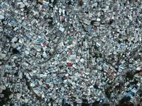 تصویری هوایی از فقیرنشینترین منطقه پایتخت هائیتی