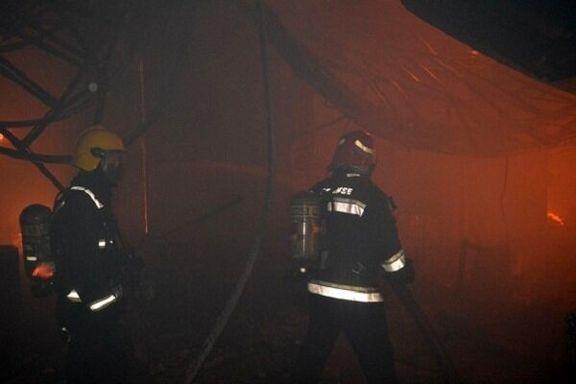 میزان خسارت آتش سوزی بازار تبریز چقدر است؟