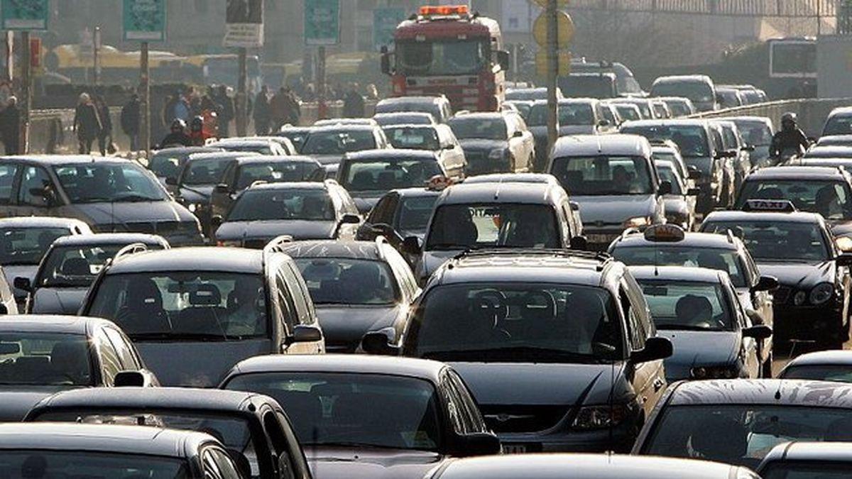 ترافیک سنگین در محور کرج -تهران