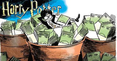 یک دهه موفقیت مالی با نام تجاری هری پاتر