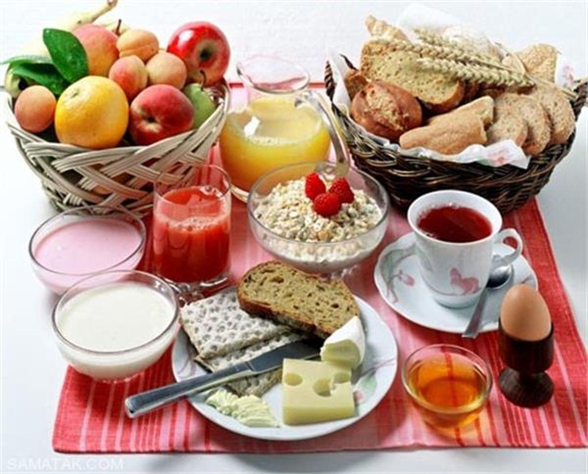 میزان تاثیر مصرف صبحانه در یادگیری دانش آموزان