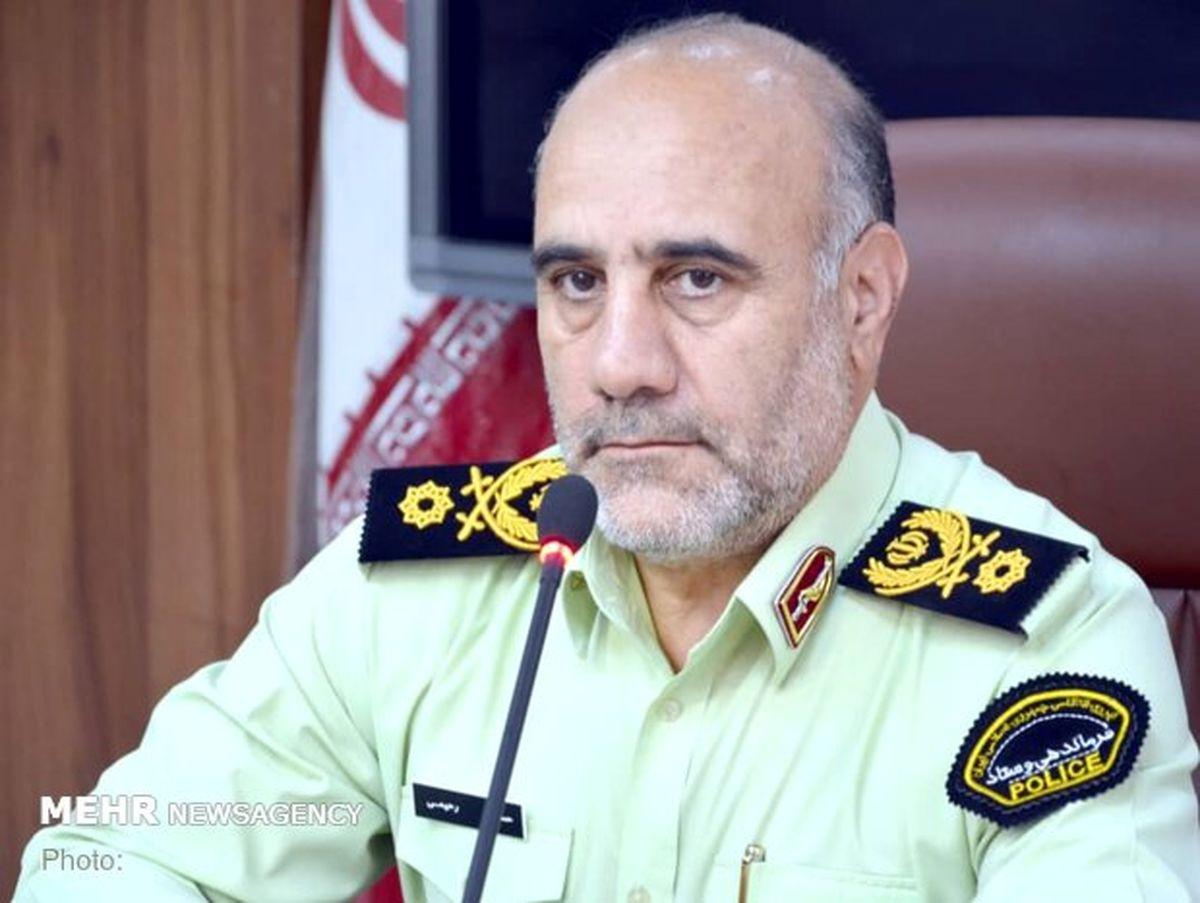 رضایت ۱۲ درصدی از پلیس پایتخت در دو ماهه سال جاری