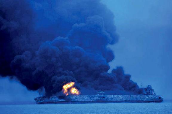 خانوادههای دریانوردان نفتکش حادثهدیده: به چین فشار بیاورید