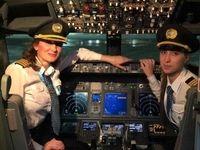 نخستین پرواز هواپیمای روسی با خلبانان زن خبرساز شد