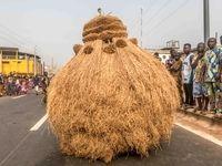 رژه غولهای آفریقایی +عکس