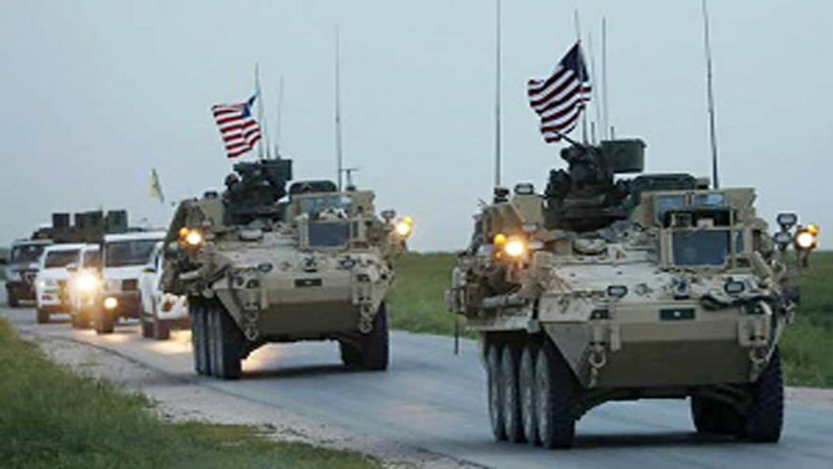به کاروان لجستیک آمریکا در عراق حمله شد