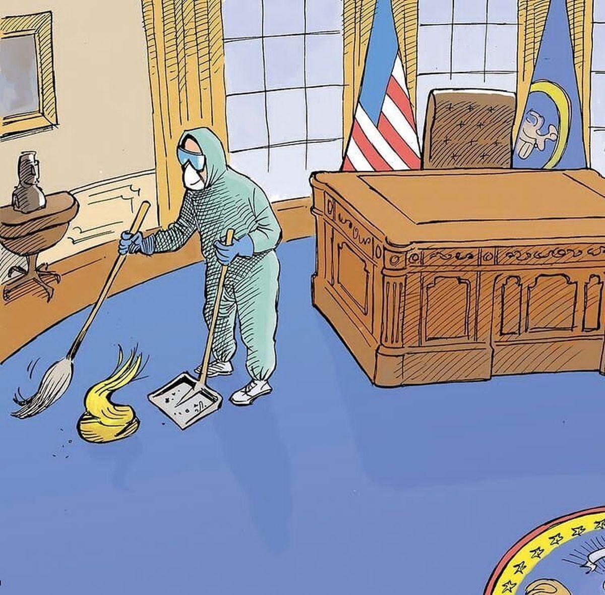 شی کشف شده در اتاق ترامپ!