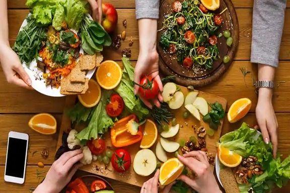تقویت بدن با رژیم غذایی رنگینکمانی