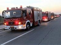 آتشسوزی در بیمارستان و انتقال حدود ۴۰بیمار
