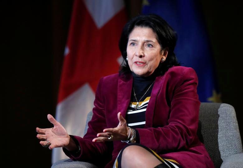 زنان رهبر جهان رئیس جمهور گرجستان