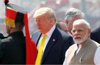 استقبال هندیها از ترامپ +عکس