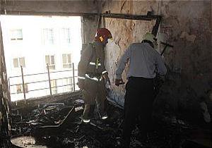 آتشسوزی منزل مسکونی در نیاوران
