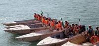 رزمایش اقتدار و آرامش در آبهای بندرعباس +تصاویر