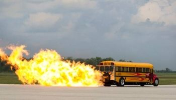 سریعترین سرویس مدرسه +تصاویر