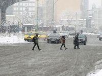 زمستان تهران +تصاویر