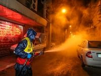 ضد عفونی کردن اماکن عمومی اهواز +عکس