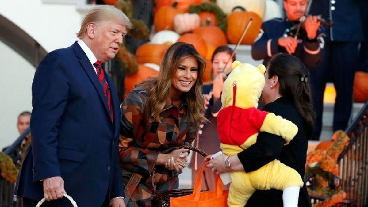 ترامپ از برگزاری جشن هالووین استقبال کرد