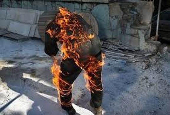 آتش زدن دوست به خاطر گوشی موبایل