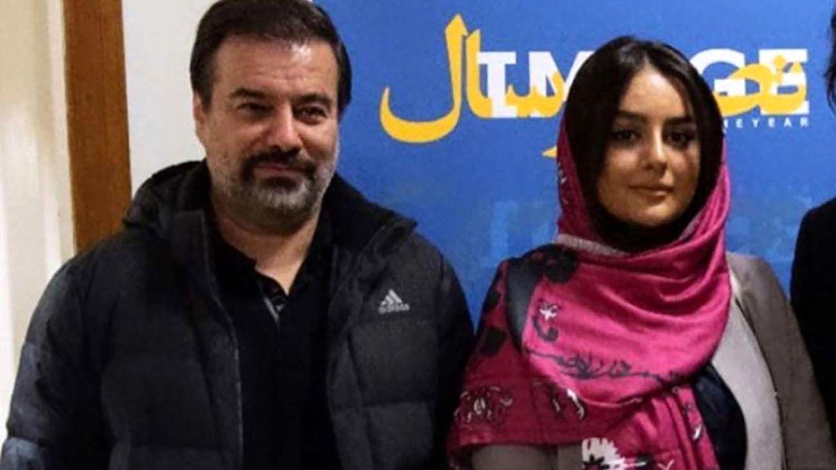 سلفی جدید پیمان قاسمخانی و همسر جوانش + عکس