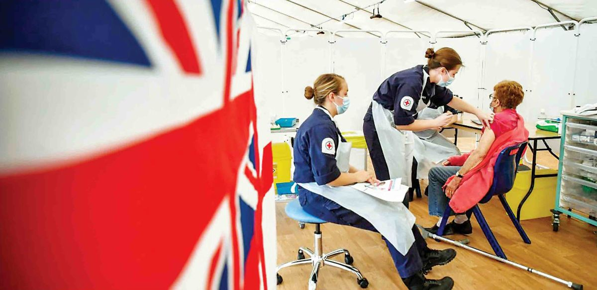 جدال انگلیس و اروپا بر سر واکسن کرونا