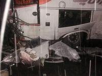 تصادف جادهای ۲کشته برجا گذاشت