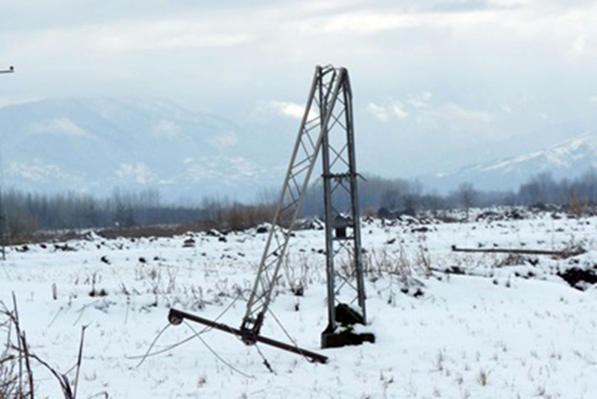 برق 108روستای همدان قطع شد