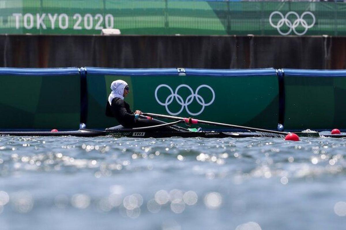 جایگاه یازدهم نازنین ملایی در بازی های المپیک توکیو