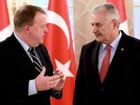 دانمارک نخست وزیر ترکیه را نمیپذیرد