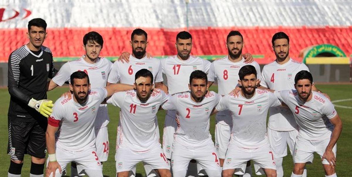اعلام اسامی تیم ملی فوتبال ایران