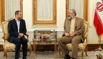 دیدار دیپلمات عمانی با قائم مقام وزیرخارجه ایران