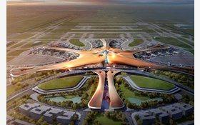 ساخت بزرگترین فرودگاه جهان در پکن +عکس