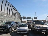 اولین خودرویی که از آزادراه تهران شمال عبور کرد +عکس