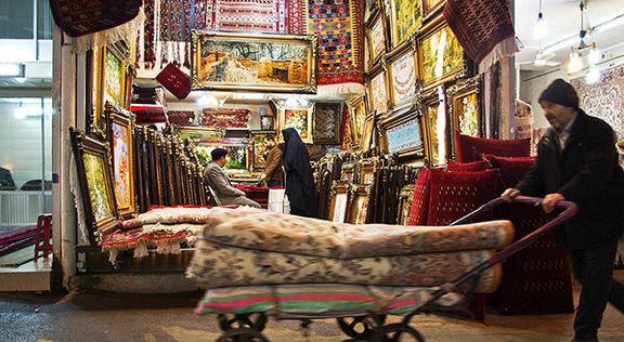 بازار داغ فروش فرشهای قاچاق افغانی به نام ایرانی