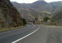 اعمال محدودیت ترافیکی در جاده هراز
