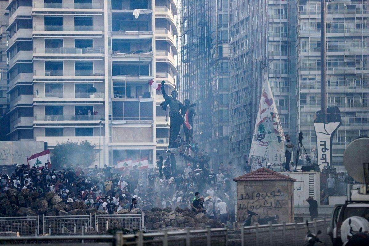 اعتراضات در ۳ شهر لبنان