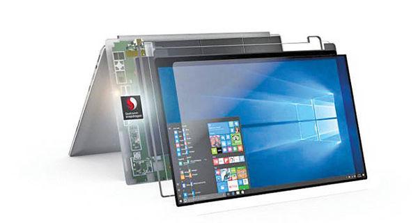 سیستم عامل لپ تاپ با پردازنده موبایل