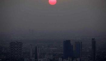 هوای عجیب در پایتخت تایلند +تصاویر