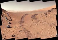 نمک های سطح مریخ نشان از وجود حیات در این سیاره دارند + عکس
