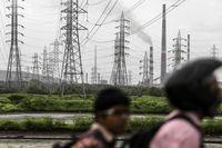 پایتخت مالی هند در خاموشی فرو رفت