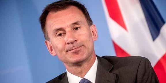 هانت: انگلیس و آمریکا در مورد ایران اختلاف نظر دارند