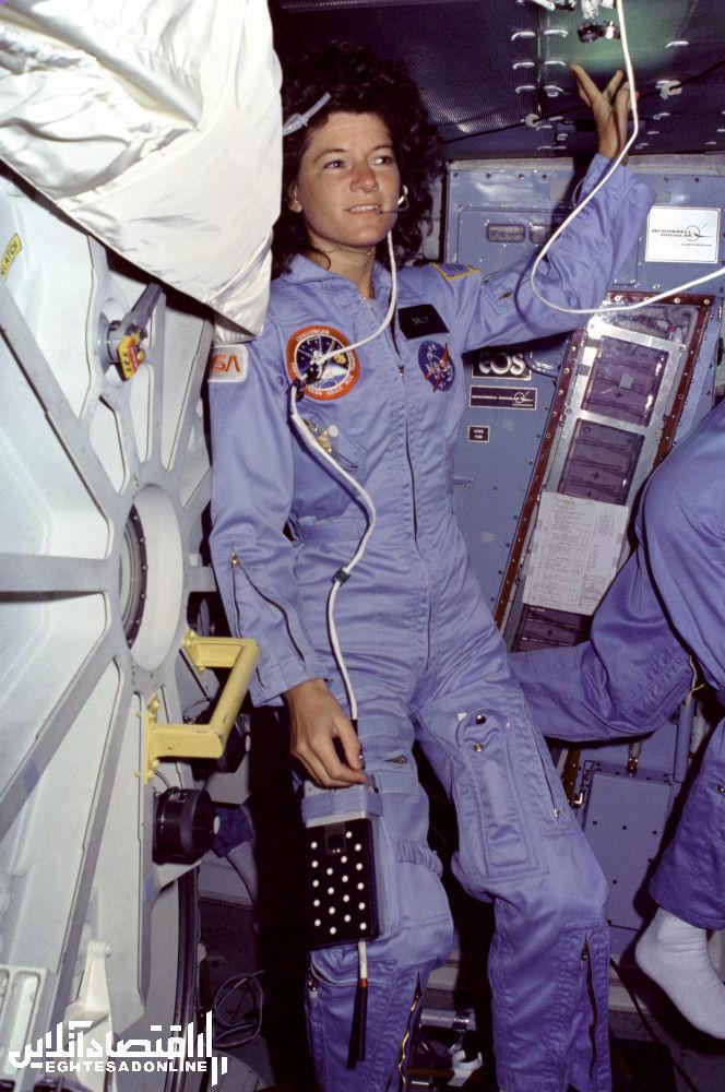 سالی راید ستاره شناس آمریکایی و اولین زنی که به فضا رفت