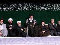 روسای قدیم و جدید قوهقضائیه در کنار رهبرانقلاب +عکس